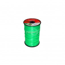 LINE TRIMMER .080  1800' LGE SPOOLS QUAD GREEN