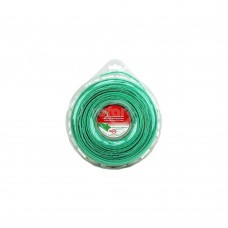 LINE TRIMMER .080  320' LGE DONUT QUAD-TEX TWIST GREEN