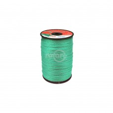 LINE TRIMMER .080  1600' LGE SPOOL QUAD-TEX TWIST GREEN