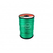 LINE TRIMMER .095 1140' LGE SPOOL QUAD-TEX TWIST GREEN