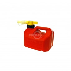 NO-SPILL 1-1/4 GALLON GAS CAN (RED)