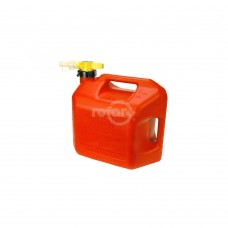 NO-SPILL 5 GALLON GAS CAN (RED)