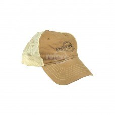 KHAKI ROTARY CAP LOW PROFILE (SOFT MESH)