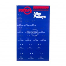 IDLER PULLEY ASSORTMENT BOARD ONLY