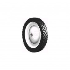 STEEL WHEEL  9 X 1.95 SNAPPER (PAINTED WHITE)