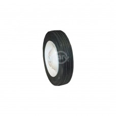 STEEL WHEEL  6 X 1.50 ECHO (PAINTED WHITE)