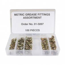 ASSORTMENT FITTING GREASE METRIC