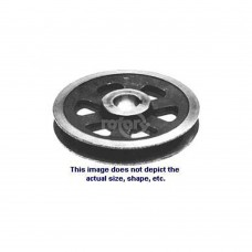 PULLEY CAST IRON 3/4